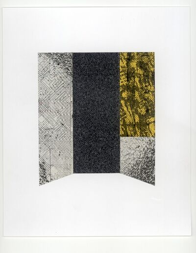 Alan Steele, 'Untitled: Yellow and Black', ca. 2014