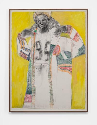Serge Attukwei Clottey, 'American visit', 2020
