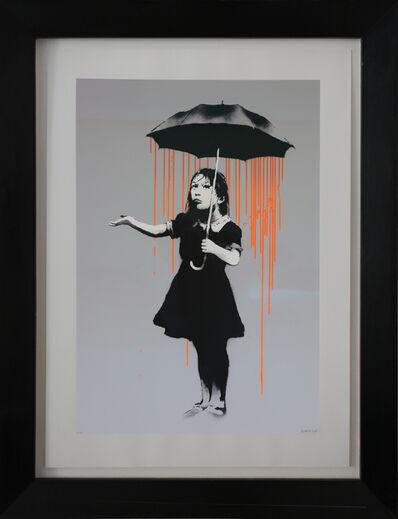 Banksy, 'Nola, Dark Orange to Orange Rain, AP signed', 2008