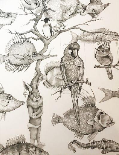 Adonna Khare, 'Bunny and Fish', 2019
