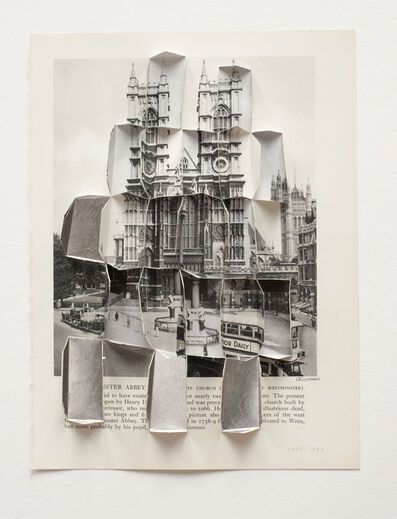 Abigail Reynolds, 'Westmister Abbey 1935 - 1947', 2013