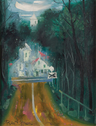 Byron Browne, 'The Road', 1959