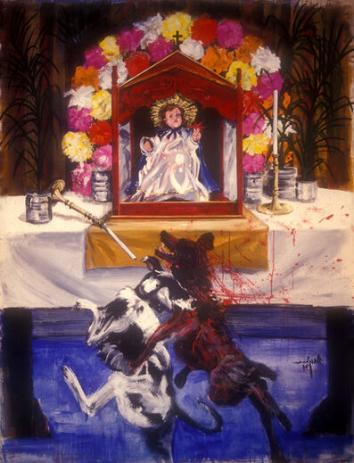 Gordon Rayner, 'The Empty Church', 1994