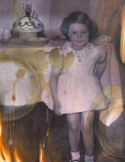 Margaret Bowland, 'Barbie Cake: Barbie Cake as a Child', 2019
