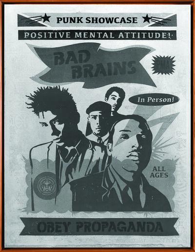 Shepard Fairey, 'Bad Brains Punk Showcase', 2016