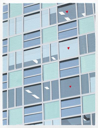 Brian Alfred, 'Kyoto (Red Triangle)', 2016