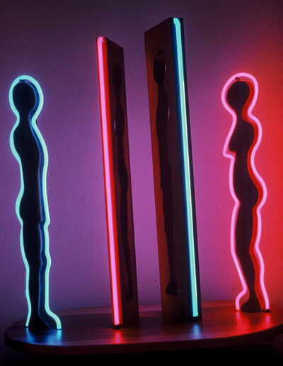 Margery Goldberg, 'I'm Looking Through You (neon)'
