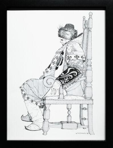 Kate Glasheen, 'Dead King 2 [18th Century Russian Czar]', 2018