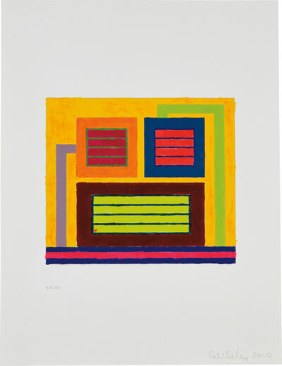 Peter Halley, 'Untitled (6.15.10.1)', 2010