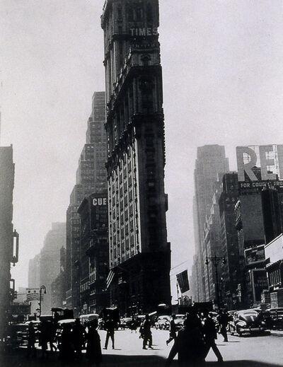 Rudy Burckhardt, 'Times Building', ca. 1948