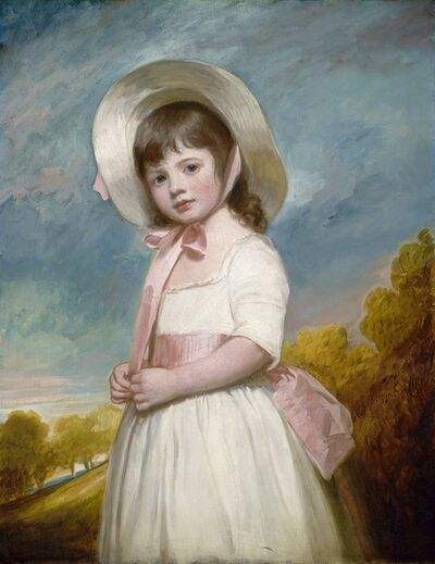 George Romney, 'Miss Juliana Willoughby', 1781-1783
