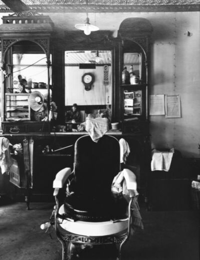 Wright Morris, ' Barbershop Interior, Weeping Water, Nebraska', 1947