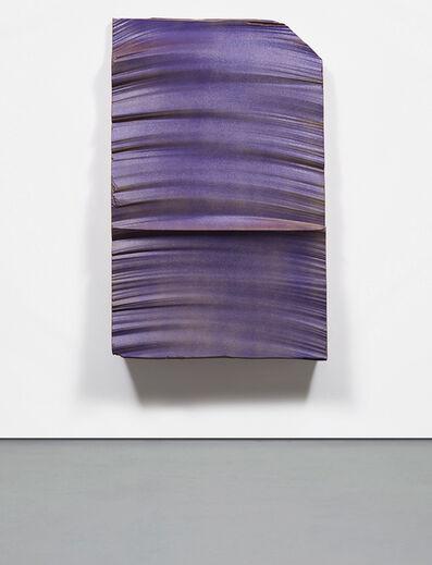 Piero Golia, 'Intermission Painting #26 red to purple', 2015