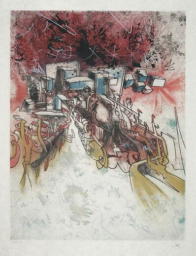Roberto Matta, 'Le palais d'hive', 1977