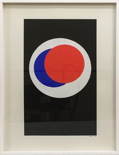 Geneviève Claisse, 'Cercles Noir blanc bleu rouge', 1966