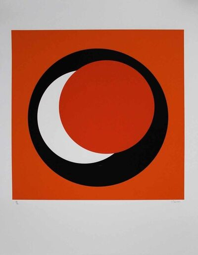 "Geneviève Claisse, '""Cercle orange""', 2015"