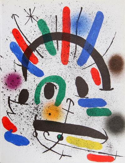 Joan Miró, 'Lithograph I (858)', 1972