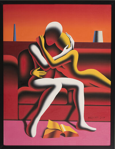 Mark Kostabi, 'Beyond the Book', 2019