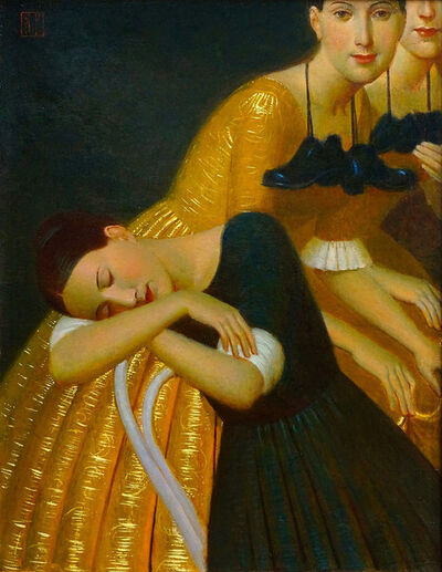 Andrey Remnev, 'On Tiptoe', 2019