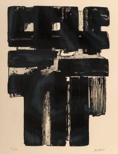 Pierre Soulages, 'Eau-forte no. 10 B', 1957