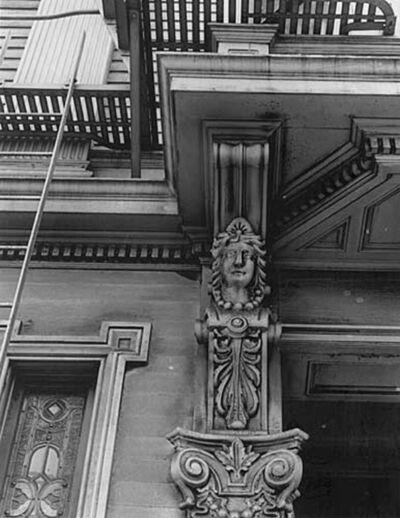 Minor White, 'Buchanan Street, San Francisco', 1948