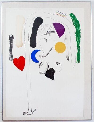 Jim Dine, 'Midsummer Wall', 1966
