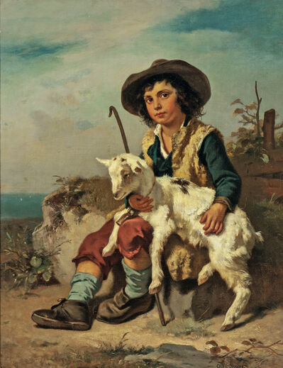 Otto Meier, 'The Little Goatherd'