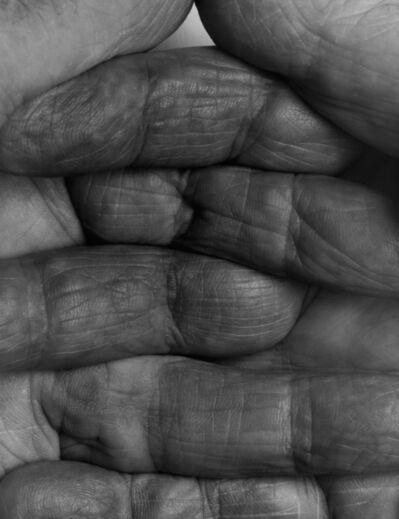 John Coplans, 'Interlocking Fingers No. 1', 1990