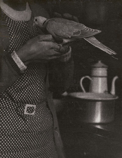 Roger Parry, 'Woman, Dove and Stove', 1929, 39 / 1929, 30
