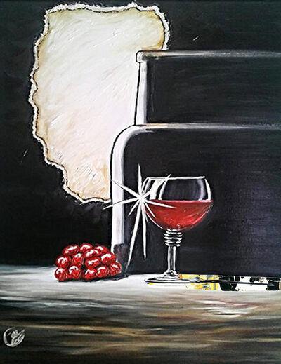 Joy Caloc, 'Le Bon Vin', 2014