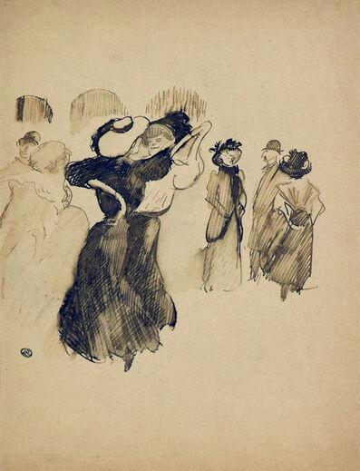 Ludovic-Rodo Pissarro, 'Les Élégantes au Bal', ca. 1905