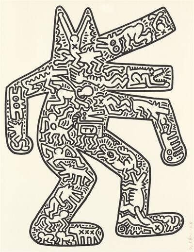Keith Haring, 'DOG', 1985