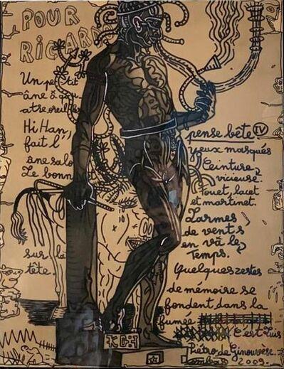 Robert Combas, 'L' HOMME AU FOUET', 1998