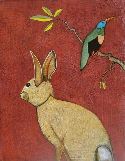 "Phyllis Stapler, '""Cottontail""', 2017"