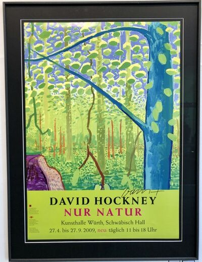 David Hockney, 'Nur Natur', 2009