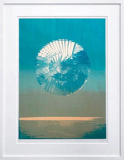 Heinz Mack, 'Antarktis- Sonne', 1972