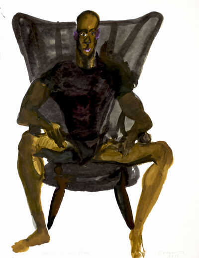 Rainer Fetting, 'Desmond in Chair', 2013