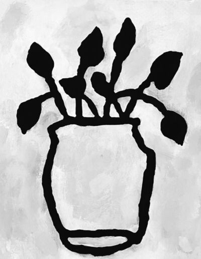 Donald Baechler, 'Botanical Study #1', 2020