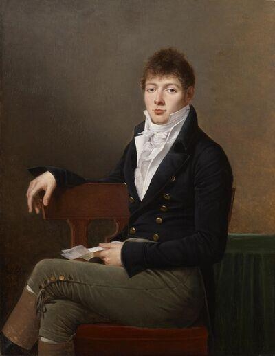 Robert Lefèvre, 'Portrait of Michael Elias Meyer', 1804