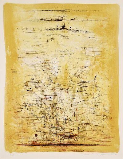 Zao Wou-Ki 趙無極, 'Vol d'Oiseaux ', 1954