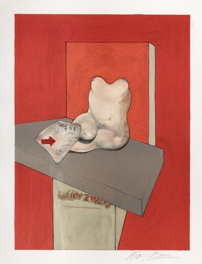 Francis Bacon, 'Study for the human body from a drawing by Ingres,', 1984