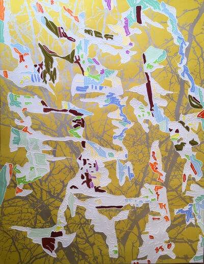 J Ivcevich, 'Trail Shred (Gold Spring)', 2018