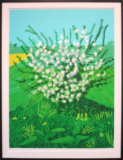 David Hockney, 'The Arrival of Spring in Woldgate, East Yorkshire in 2011(twenty eleven) - 30 April', 2011