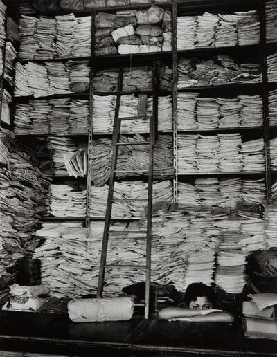 Alfred Eisenstaedt, 'Fabric shop in Guayaquil, Ecuador', 1958-printed later