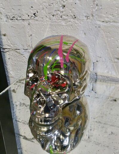 EB Studios, 'Skull - Gold', 2020