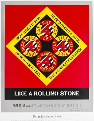 Robert Indiana, 'Like a Rolling Stone', 2016