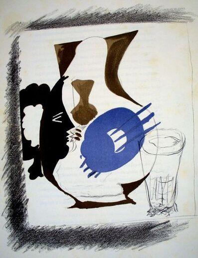 Georges Braque, 'Verre et pichet', 1952