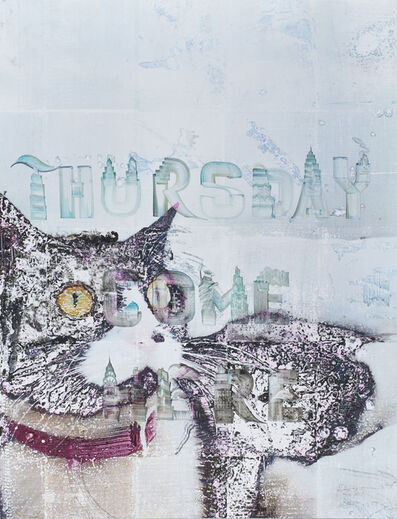 Andrei Koschmieder, 'Thursday and Friday from Catnip High series', 2010