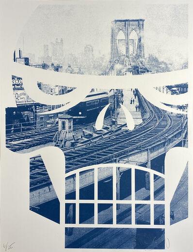 matt siren, 'Brooklyn Bridge Terminal, Brooklyn Bridge 1903', 2013