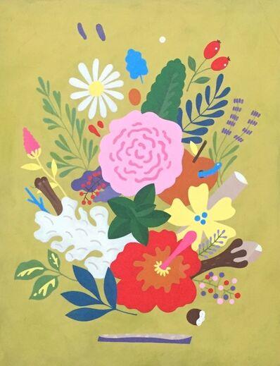 Ayumi Takahashi, 'Untitled (Floral)', 2015